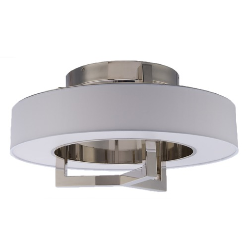 WAC Lighting Wac Lighting Madison Brushed Nickel LED Flushmount Light FM-96916-BN