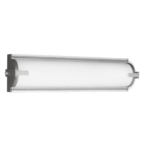 Sea Gull Lighting Sea Gull Lighting Braunfels Satin Aluminum LED Vertical Bathroom Light 4435793S-04