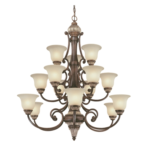 Dolan Designs Lighting Fifteen-Light Chandelier 2643-211