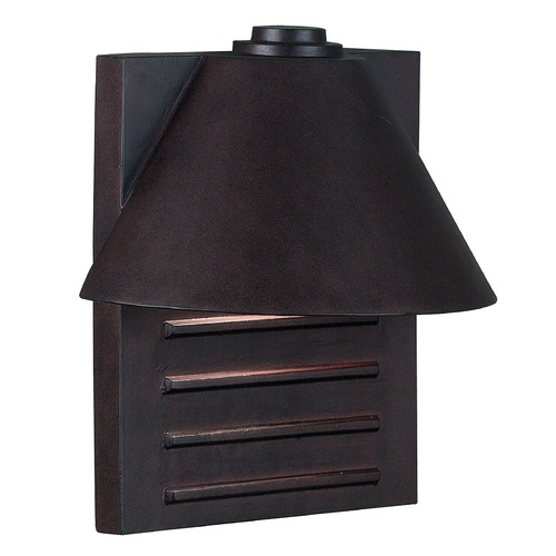 Kenroy Home Lighting Modern Outdoor Wall Light in Copper Finish 10161COP