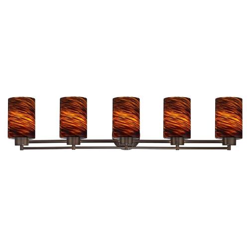 Design Classics Lighting Design Classics Salida Fuse Neuvelle Bronze Bathroom Light 706-220 GL1023C