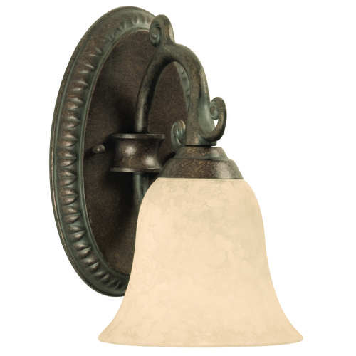 Craftmade Lighting Craftmade Aztec Peruvian Bronze Sconce 10405PR1