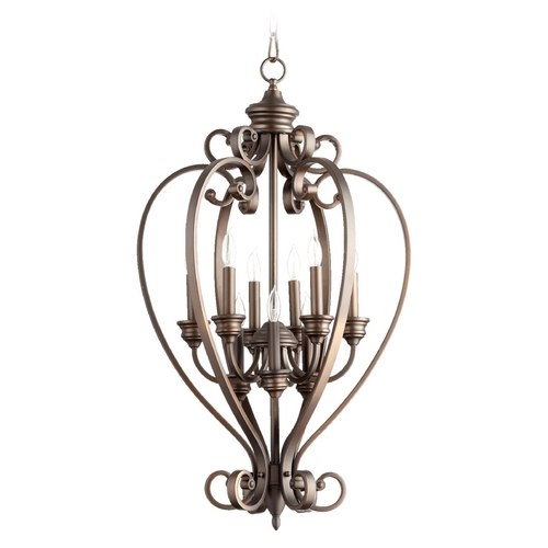 Quorum Lighting Quorum Lighting Bryant Oiled Bronze Pendant Light 6854-9-86