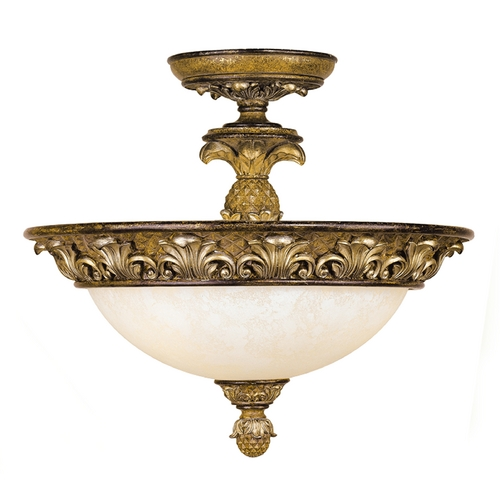 Livex Lighting Livex Lighting Savannah Venetian Patina Semi-Flushmount Light 8467-57