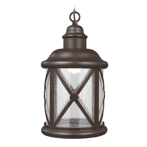 Sea Gull Lighting Sea Gull Lighting Lakeview Antique Bronze LED Outdoor Hanging Light 6221492S-71