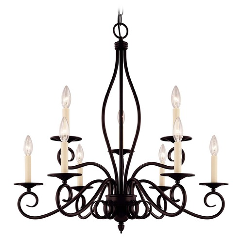 Savoy House Savoy House English Bronze Chandelier KP-99-9-13