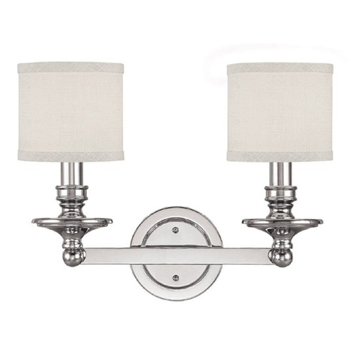 Capital Lighting Capital Lighting Midtown Polished Nickel Bathroom Light 1237PN-451