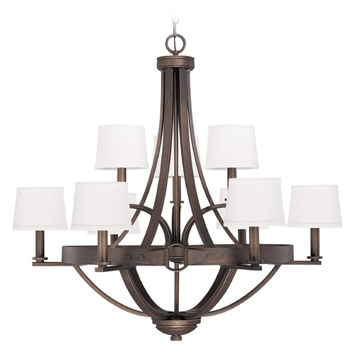 Capital Lighting Capital Lighting Chastain Tobacco Chandelier 4209TB-546