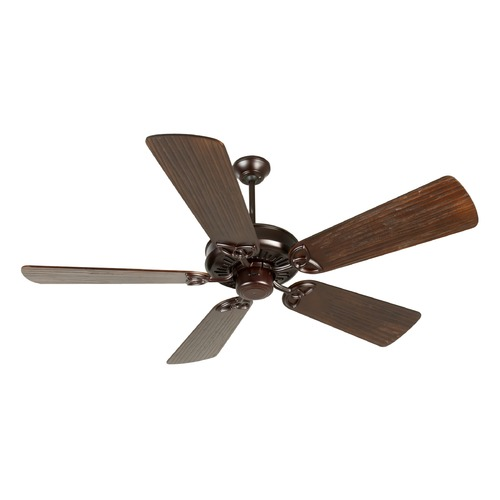 Craftmade Lighting Craftmade Lighting American Tradition Oiled Bronze Ceiling Fan Without Light K10835