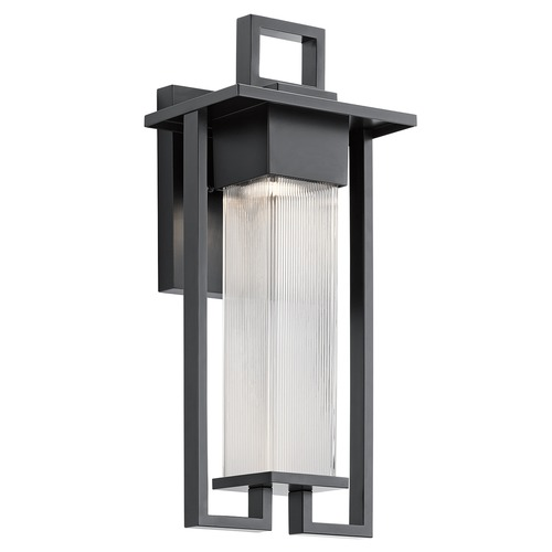 Kichler Lighting Kichler Lighting Chlebo Black Outdoor Wall Light 49707BK