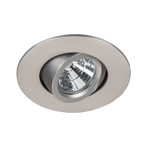 WAC Lighting WAC Lighting Oculux Brushed Nickel LED Recessed Kit R2BRA-S930-BN