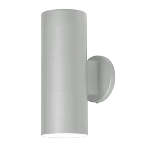 Access Lighting Outdoor Cylinder Wall Light in Satin Nickel Finish 20444-SAT