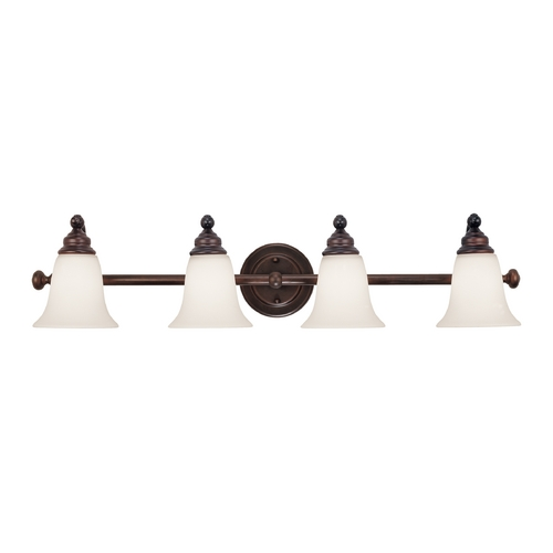 Dolan Designs Lighting Four-Light Bathroom Vanity Light 3244-30