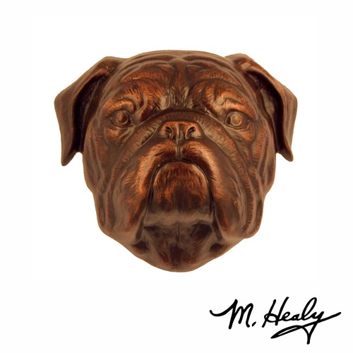 Michael Healy Bulldog Door Knocker MHDOG14