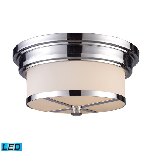 Elk Lighting Elk Lighting Flushmounts Polished Chrome LED Flushmount Light 15015/2-LED