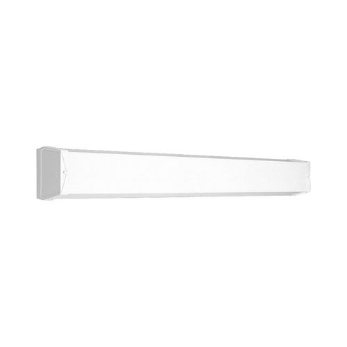 Progress Lighting Progress Sconce Wall Light with White in White Finish P7130-30EB