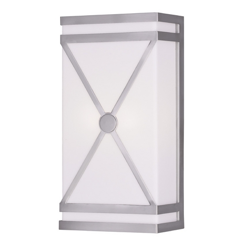 Livex Lighting Livex Lighting Brushed Nickel Sconce 9415-91