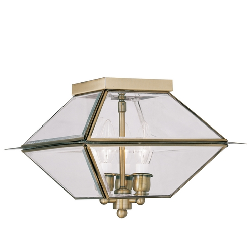 Livex Lighting Livex Lighting Westover Bronze Close To Ceiling Light 2185-07