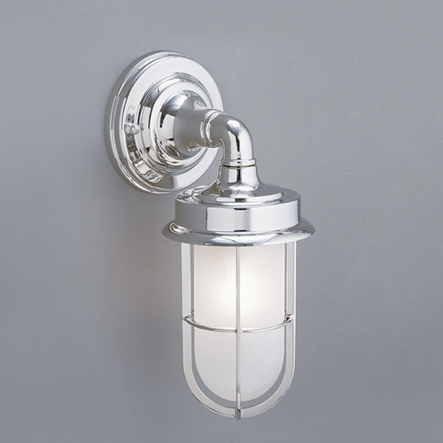Norwell Lighting Norwell Lighting Compton Chrome Outdoor Wall Light 1425-CH-SO