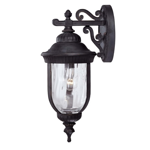 Savoy House Savoy House Black W/ Gold Outdoor Wall Light 5-60321-186