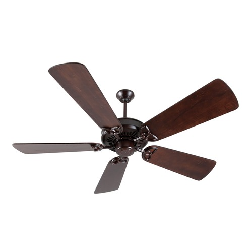 Craftmade Lighting Craftmade Lighting American Tradition Oiled Bronze Ceiling Fan Without Light K10836