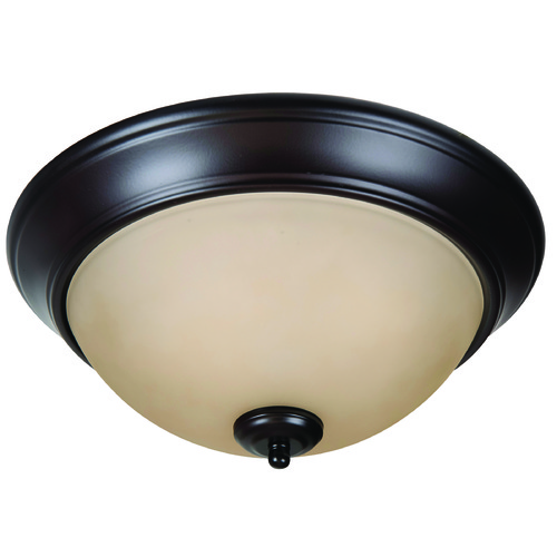 Craftmade Lighting Craftmade Pro Builder Flush Oiled Bronze Flushmount Light XP13OB-2A