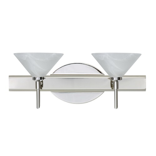 Besa Lighting Besa Lighting Kona Chrome LED Bathroom Light 2SW-117652-LED-CR