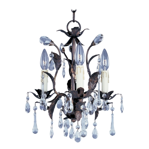 Maxim Lighting Mini-Chandelier in Oil Rubbed Bronze Finish 8832OI