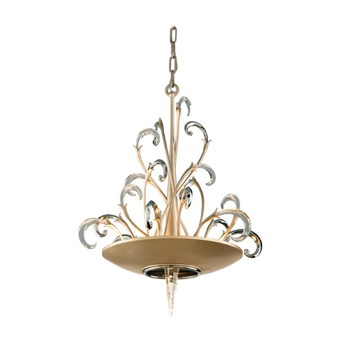 Corbett Lighting Corbett Lighting Crescendo Tranquility Silver L Island Light 156-43