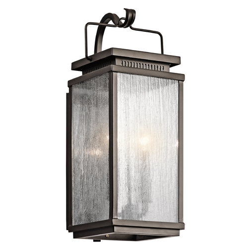 Kichler Lighting Kichler Lighting Manningham Olde Bronze Outdoor Wall Light 49385OZ