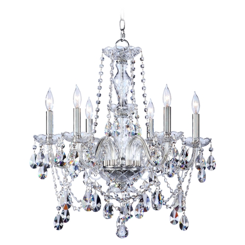 Quorum Lighting Quorum Lighting Bohemian Katerina Chrome Crystal Chandelier 630-6-514