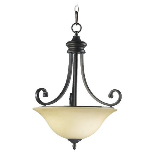 Quorum Lighting Quorum Lighting Bryant Oiled Bronze Pendant Light 8154-3-86