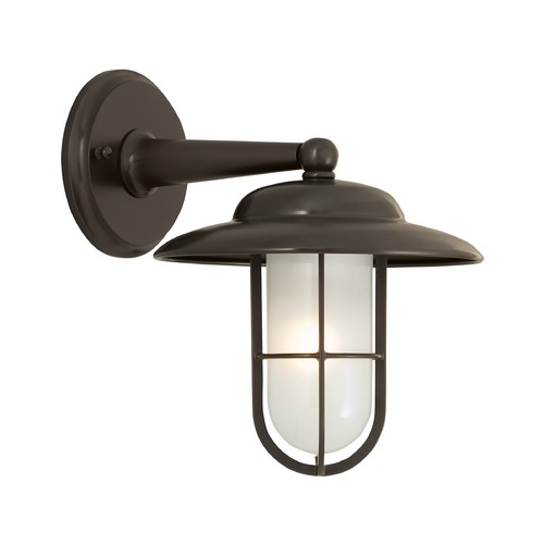 Norwell Lighting Norwell Lighting Compton Bronze Outdoor Wall Light 1426-BR-SO