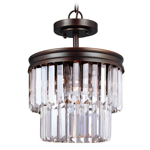 Sea Gull Lighting Sea Gull Lighting Carondelet Burnt Sienna Pendant Light 7714002BLE-710