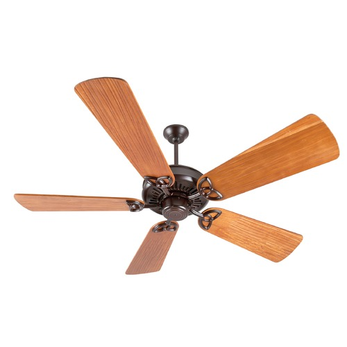 Craftmade Lighting Craftmade Lighting American Tradition Oiled Bronze Ceiling Fan Without Light K10837