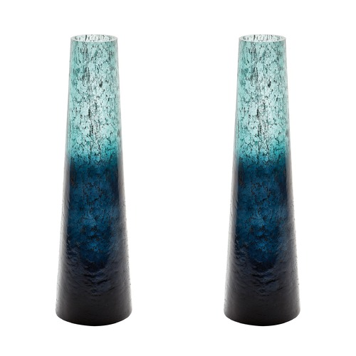 Dimond Lighting Emerald Ombre Snorkel Vase 876034/S2