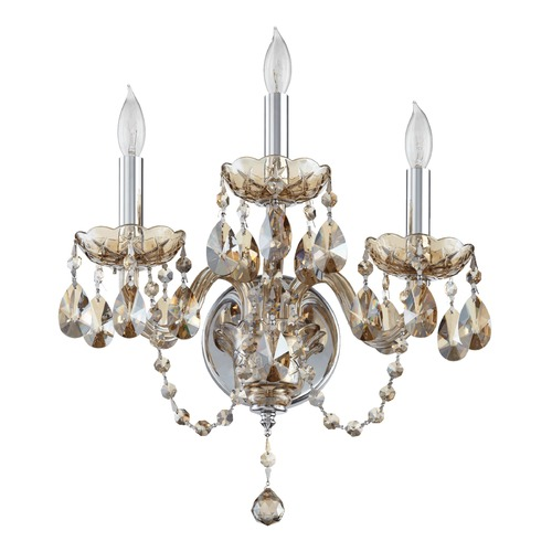 Quorum Lighting Quorum Lighting Bohemian Katerina Chrome Sconce 631-3-614