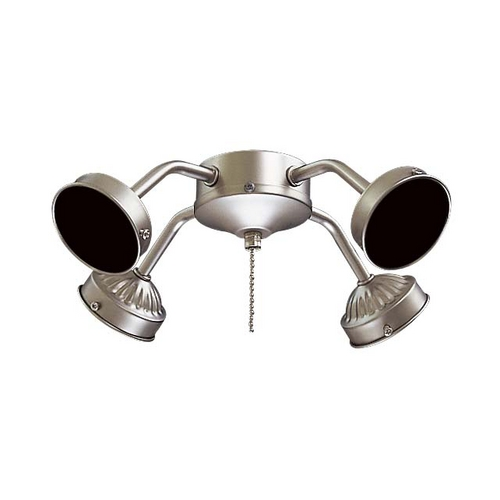 Minka Aire Light Kit in Brushed Steel Finish K1-L-BS