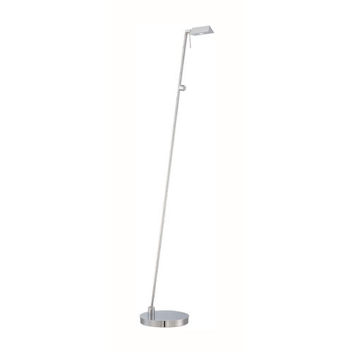 George Kovacs Lighting Modern LED Pharmacy Lamp in Chrome Finish P4314-077