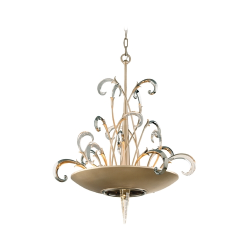 Corbett Lighting Corbett Lighting Crescendo Tranquility Silver L Island Light 156-46