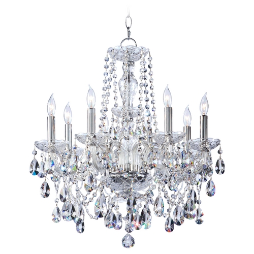 Quorum Lighting Quorum Lighting Bohemian Katerina Chrome Crystal Chandelier 630-8-514