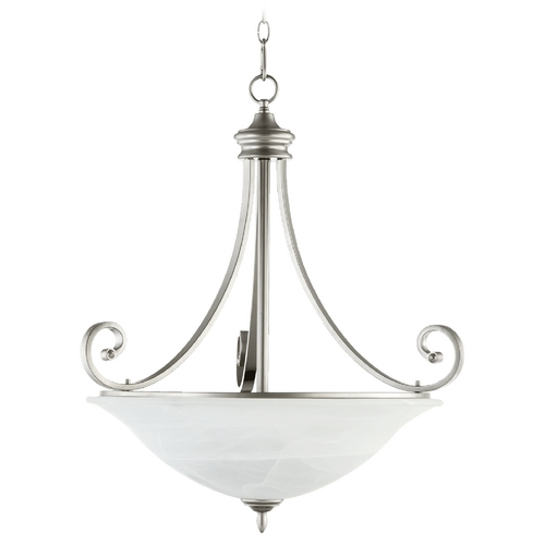 Quorum Lighting Quorum Lighting Bryant Classic Nickel Pendant Light 8154-4-64