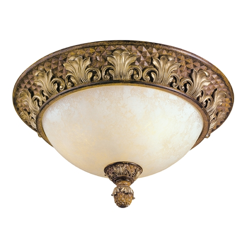 Livex Lighting Livex Lighting Savannah Venetian Patina Flushmount Light 8458-57