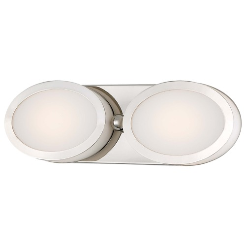 Minka Lavery Minka Pearl Bath Polished Nickel LED Bathroom Light 2902-613-L