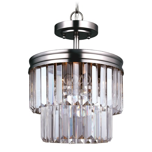 Sea Gull Lighting Sea Gull Lighting Carondelet Antique Brushed Nickel Pendant Light 7714002BLE-965