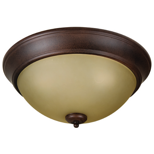 Craftmade Lighting Craftmade Pro Builder Flush Aged Bronze Flushmount Light XP15AG-3A
