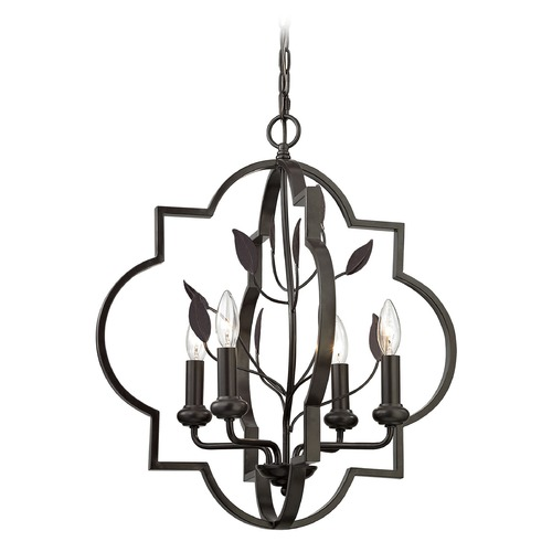 Elk Lighting Elk Lighting Chandette Oil Rubbed Bronze Mini-Chandelier 31816/4
