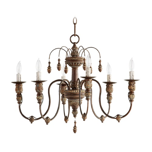 Quorum Lighting Quorum Lighting Salento Vintage Copper Chandelier 6316-6-39