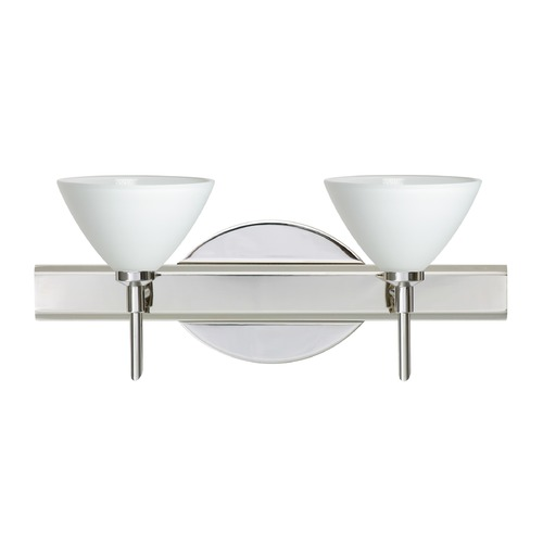 Besa Lighting Besa Lighting Domi Chrome LED Bathroom Light 2SW-174307-LED-CR