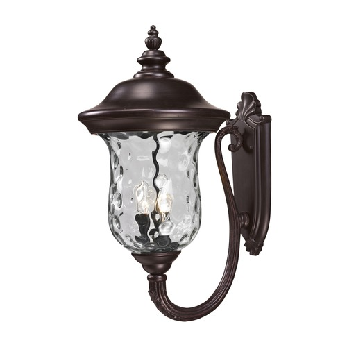 Z-Lite Z-Lite Armstrong Bronze Outdoor Wall Light 533B-RBRZ